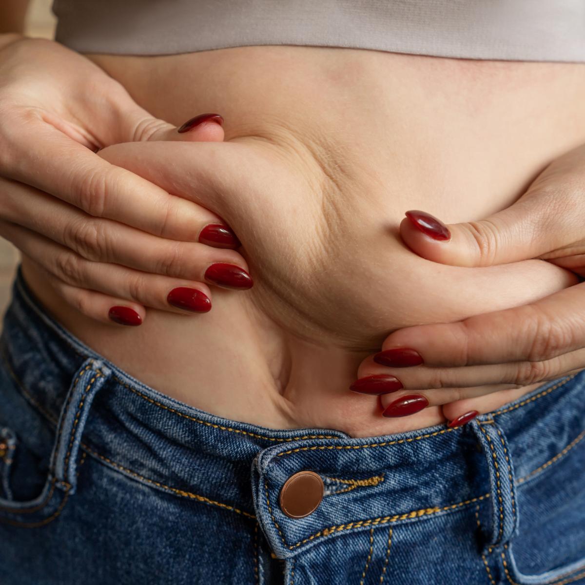 stomach folding